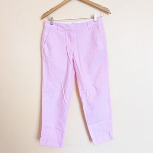 J Crew light pink Capri pants